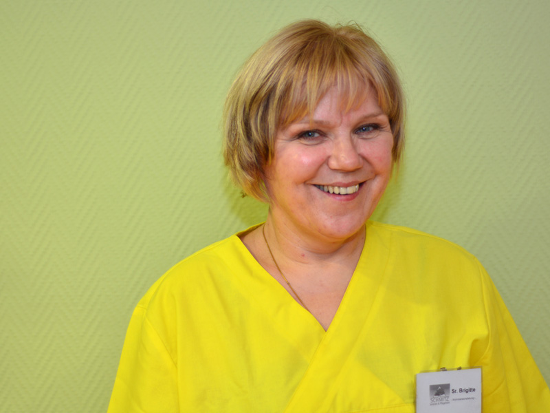 Pflegerin Brigitte